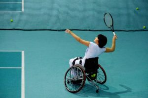 15 Wheelchair Sports for Active Wheelchair Users - Wheelchair tennis