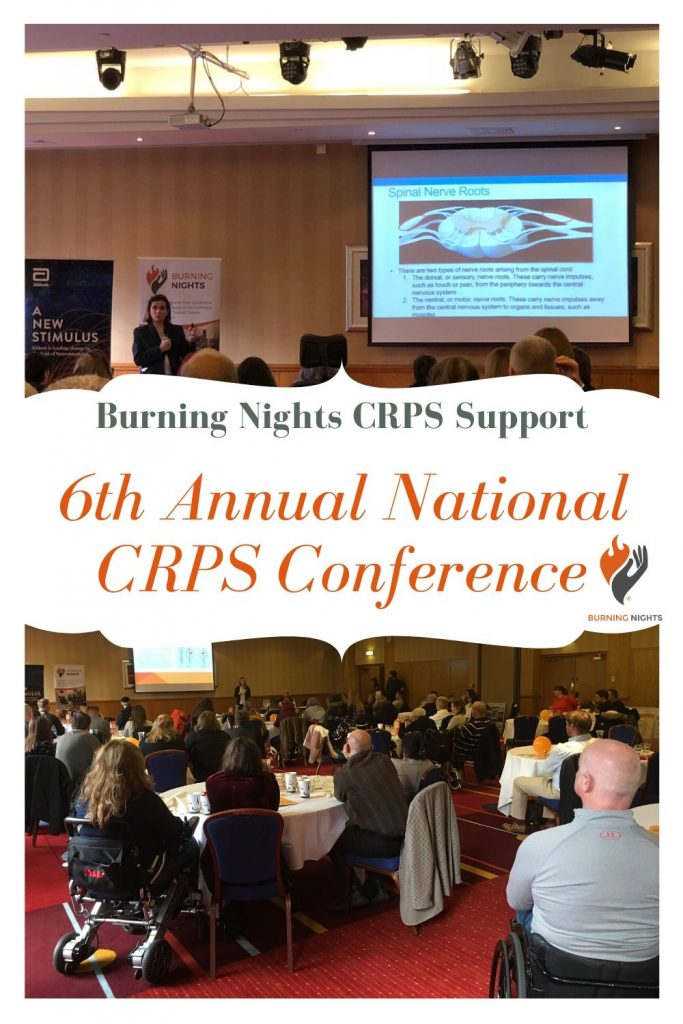 Join us at the Burning Nights CRPS Support 6th Annual National CRPS Conference at the DoubleTree Hilton Chester on Sunday 15th November 2020