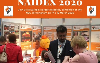 Join us at Naidex 2020 on 17 and 18 March 2020 at the NEC in Birmingham. Burning Nights CRPS Support will be exhibiting at Naidex 2020 and we have also partnered with them opnce again. Come and find us on Stand N632!