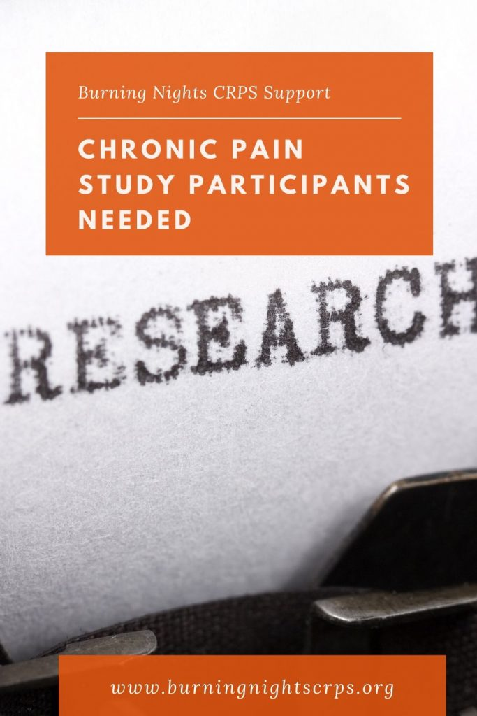 Chronic Pain Study looking into self compassion and pain - Participants Needed