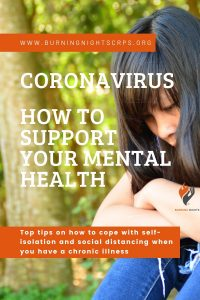 Coronavirus - How to support your mental health especially for those living with a chronic illness