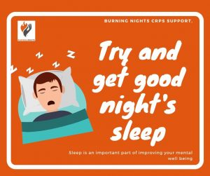 Coronavirus - how to support your mental health - don't forget to get good rest and good night's sleep. Living with a chronic illness can cause issues with sleep. Check out these sleep tips to help improve your sleep