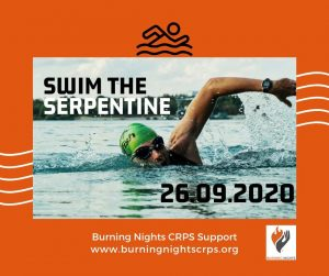 Want a challenge? Join Team Burning Nights CRPS Support by swimming The Serpentine half mile event!