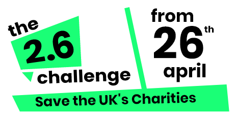 Save the date from 26th April and join us for The Two Point Six (2.6) Challenge and help to Save the UK Charities such as Burning Nights CRPS Support!