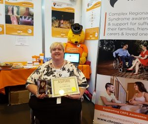 Points of Light Award - Victoria Abbott-Fleming from Burning Nights CRPS Support for her work in the CRPS community