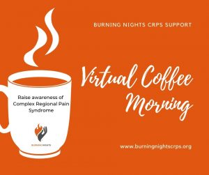 Why not hold a virtual coffee morning and ask people to make a donation to your fundraiser? Have a coffee and a cake, oh and a good natter!