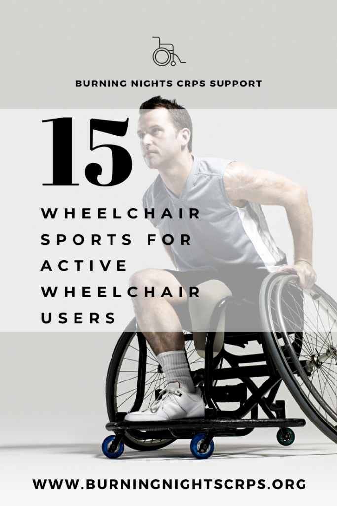 Find 15 wheelchair sports for the active wheelchair users