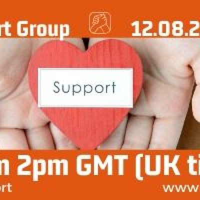 Online CRPS Support Group 12 August 2020 - are you affected by Complex Regional Pain Syndrome (CRPS)? Join Burning Nights CRPS Support for impartial advice, information and support