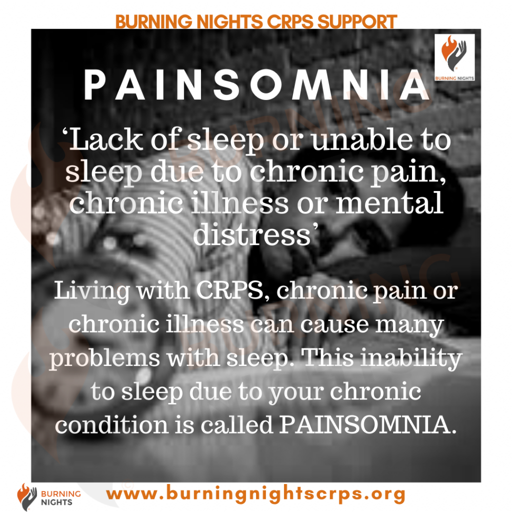 Painsomnia - Lack of sleep or unable to sleep due to chronic pain, chronic illness or mental distress' - How to sleep better when you have chronic pain