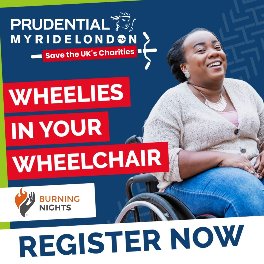 Join us for Prudential My Ride London virtual event 2020! You can even take part in your wheelchair