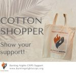 Burning Nights CRPS Reusable Cotton Shopper