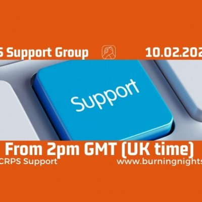 Online CRPS Support group February 2021