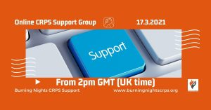 Online CRPS Support Group March 2021 (Updated)