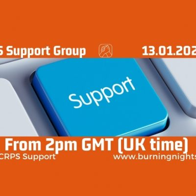 Online CRPS Support Group January 2021