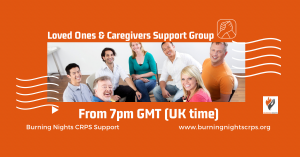 Join our next Loved Ones and Caregivers of CRPS online support group