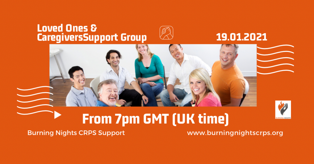 Loved ones and caregivers virtual support group January 2021