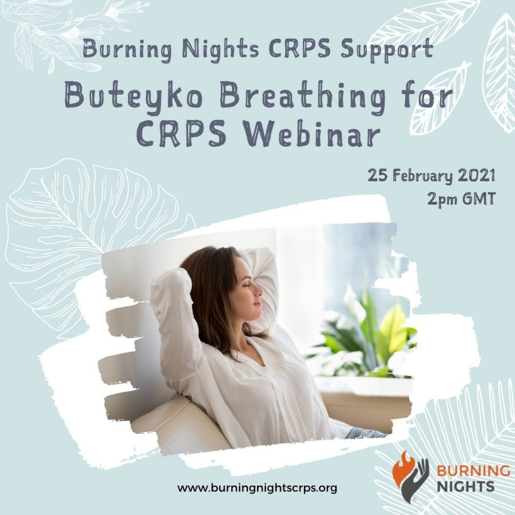Understand what Buteyko Breathing is and how it can help you with your CRPS