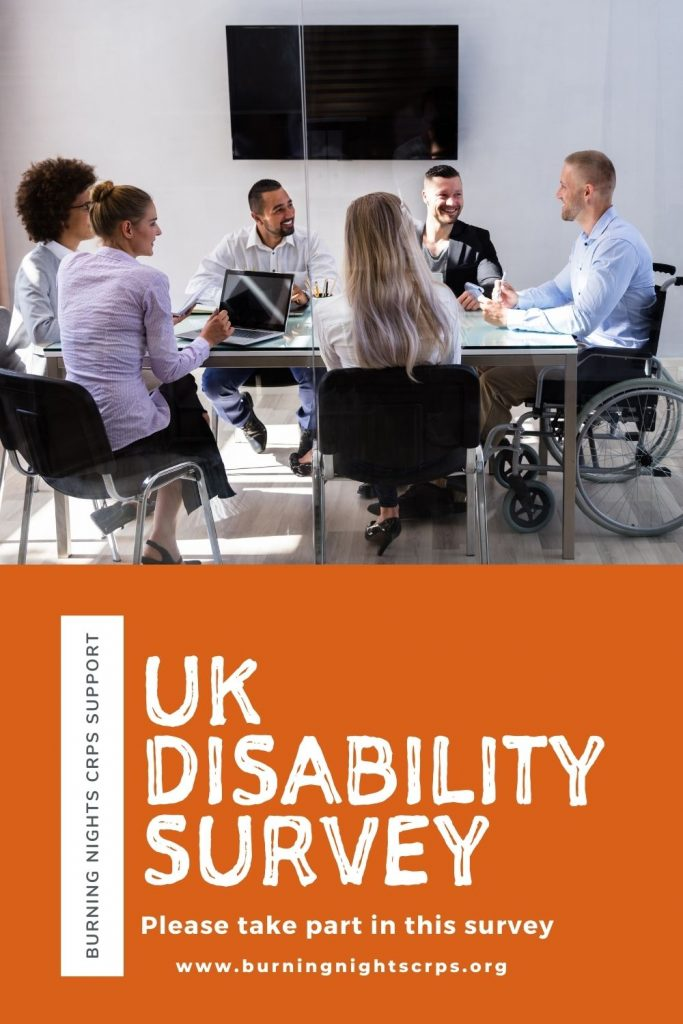 Please take part in the UK Disability Survey