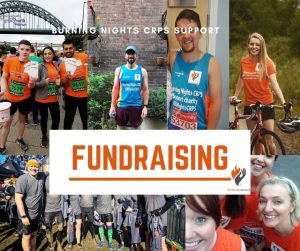 Fundraise with Burning Nights CRPS Support
