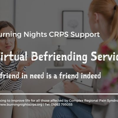 A friend in need is a friend indeed: Burning Nights CRPS Support launches a Virtual Befriending Service Launch