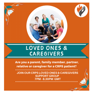 Join our Loved one and care givers online CRPS support group