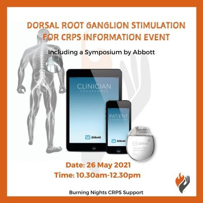 Dorsal Root Ganglion Stimulation for CRPS Information Event with Abbott