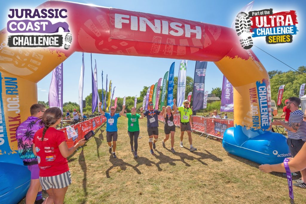 Join the Jurassic Coast Challenge and fundraise for Burning Nights CRPS