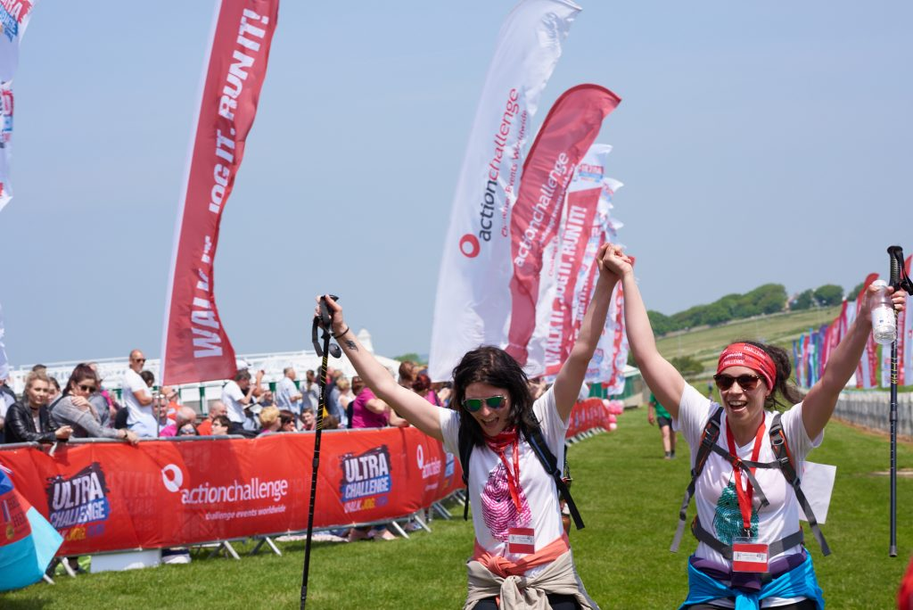 Join to the London 2 Brighton Challenge and support Burning Nights CRPS