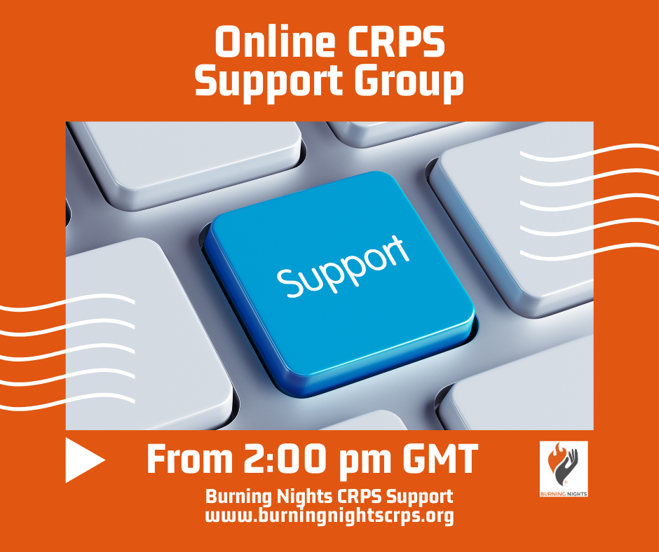 Join to the Online CRPS support group
