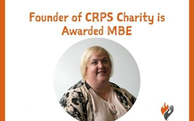 Founder of CRPS charity is awarded an MBE