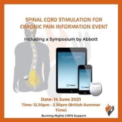 Spinal Cord Stimulation for Chronic Pain Online Information Event