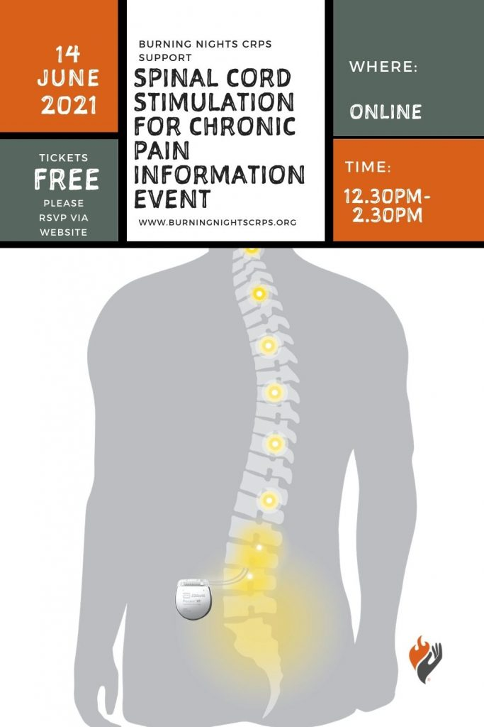 Spinal Cord Stimulation (SCS) Info Event - Burning Nights CRPS Support