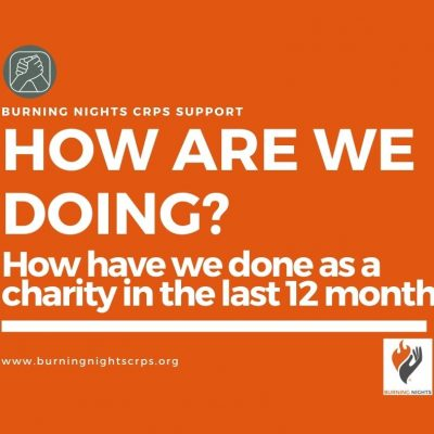 How are we doing as a charity over the last 12 months?